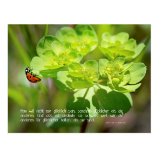 Postkarte Glück (Edition sinn.worte)