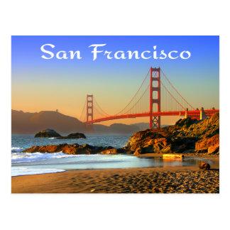 Postkarte Golden gate bridges San Francisco CA