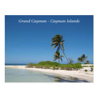 Postkarte - Grand Cayman - die Kaimaninseln