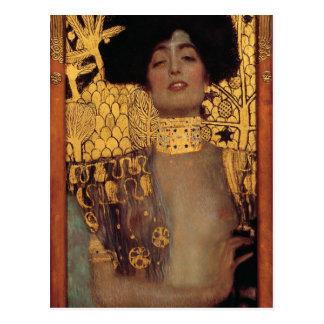 Postkarte Gustav Klimt Judith