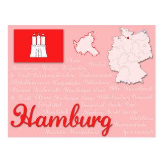 """Postkarte """"Hamburg """""""