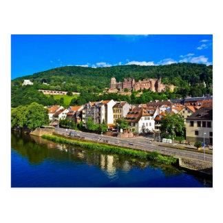 Postkarte Heidelberg, Deutschland,