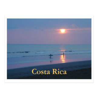 Postkarte Hermosa Blau-Sonnenuntergang