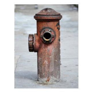 Postkarte,- Hydrant Vintage -, sind sie Paulo|Nº13 Postkarte