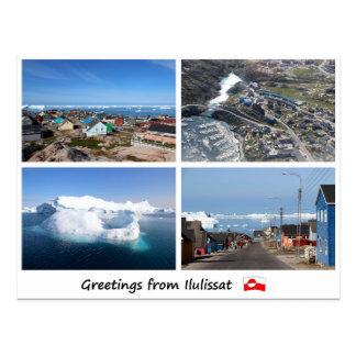 Postkarte Ilulissat