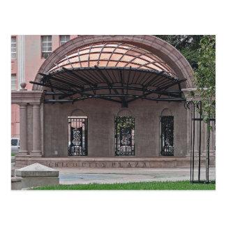 POSTKARTE - im Stadtzentrum gelegene Stadt-Piazza