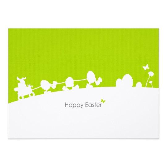 Postkarte Karte Ostern 14 X 19,5 Cm Einladungskarte