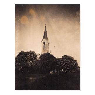 "Postkarte ""Kirchen-Beleuchtung """