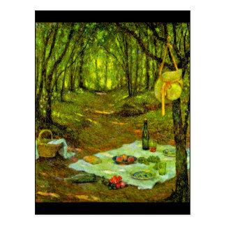 Postkarte-Klassisch/Vintag-Henri Le Sidaner 14 Postkarte