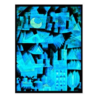 Postkarte-Klassisch/Vintag-Paul Klee 50 Postkarte
