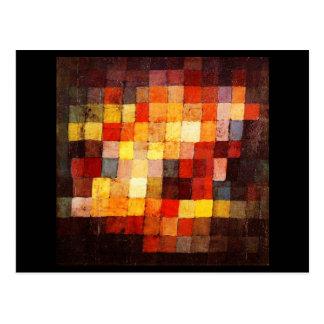 Postkarte-Klassische Kunst-Klee 6 Postkarte