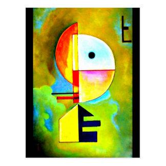 Postkarte-Klassisches/Vintages-Wassily Kandinsky 5 Postkarte