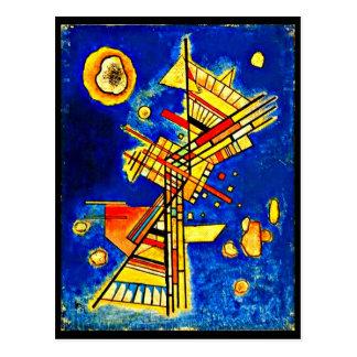 Postkarte-Klassisches/Vintages-Wassily Kandinsky Postkarte