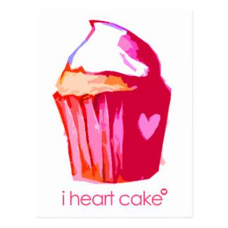 Postkarte Kuchen des Herzens I (mit Text)