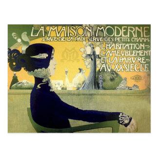 Postkarte: Kunst Nouveau - Privat-Livemont Postkarte