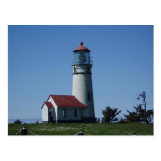 Postkarte--Leuchtturm Postkarte
