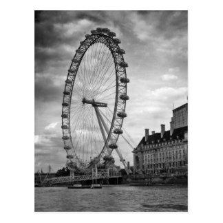 "Postkarte ""London-Auge """