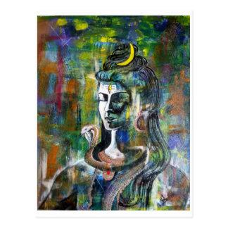 Postkarte Lords Shiva