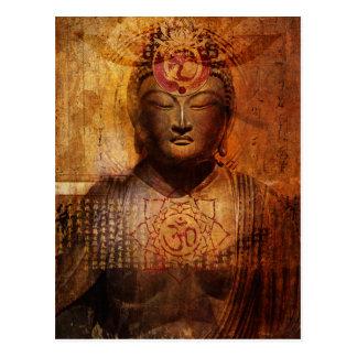 Postkarte Lotuss Sutra