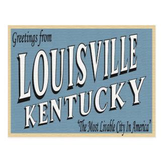 Postkarte Louisvilles Kentucky
