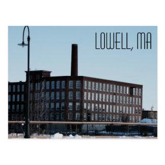 Postkarte Lowells Massachusetts