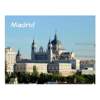 Postkarte Madrids, Spanien