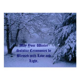 Postkarte Mai Ihre Winter-Sonnenwende Cerom…