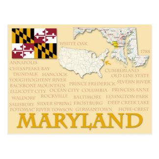"Postkarte ""Maryland """