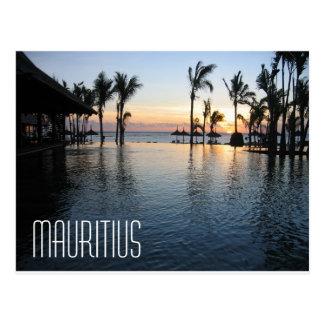 Postkarte Mauritius Afrika