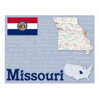 """Postkarte """"Missouri """""""