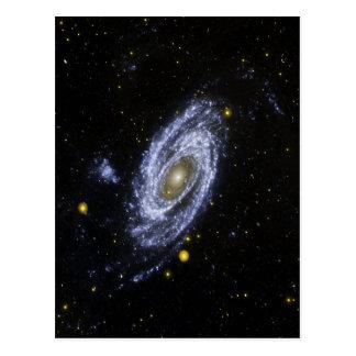 Postkarte mit Bild vom Weltraum