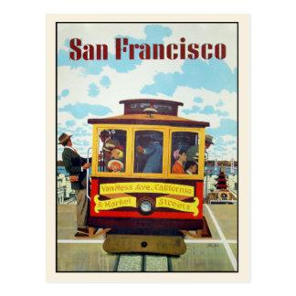 Postkarte mit coolem San Francisco Druck