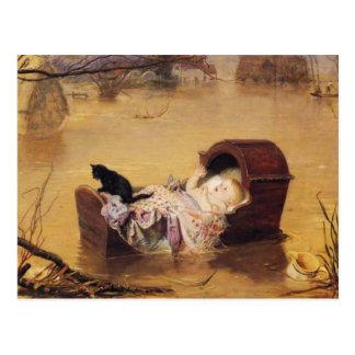 Postkarte mit John Everett Millais-Malen