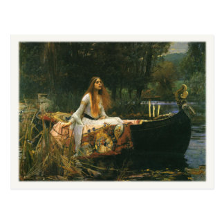 Postkarte mit John William Waterhouse-Malen