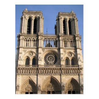 Postkarte mit Notre Dame de Pariskathedrale