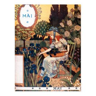 Postkarte: Monat Mai - MAI Postkarte