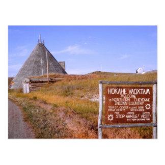 Postkarte Montanas Cheyenne