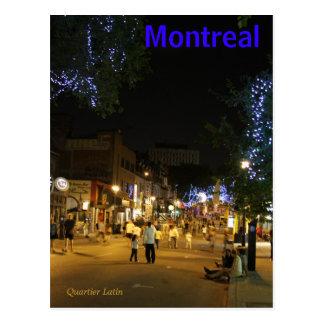 Postkarte Montreals Kanada