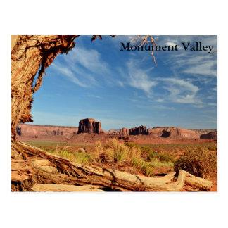 Postkarte - Monument-Tal
