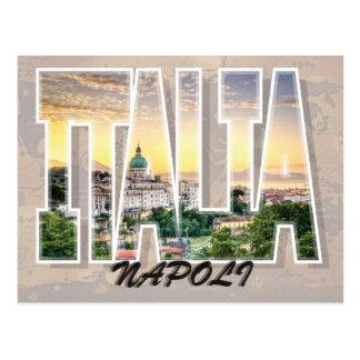 Postkarte Neapels, Italien