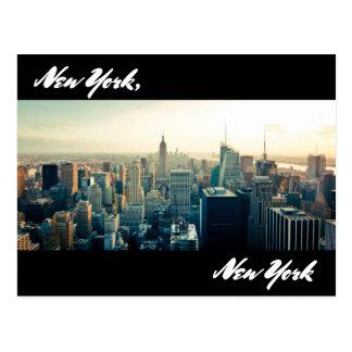 Postkarte New York, New York