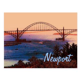 Postkarte Newports (ODER)