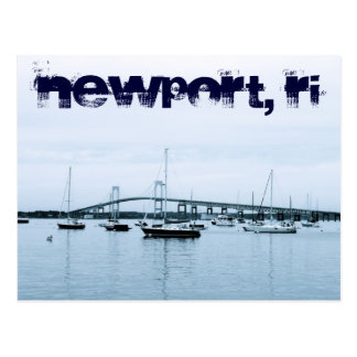 Postkarte Newports RI