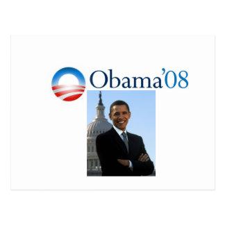 Postkarte Obama '08