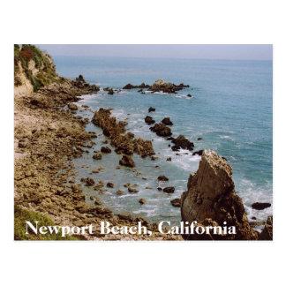 Postkarte OC Newport-Strand-Kaliforniens Gold
