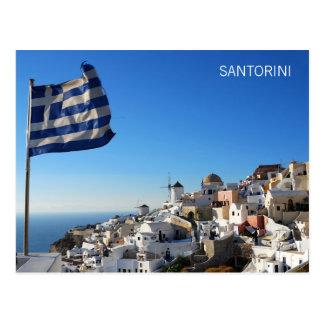 Postkarte Oia, Santorini