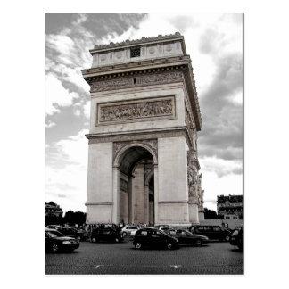 Postkarte Paris der Arc de Triomphe
