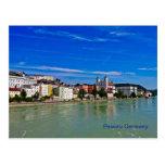 Postkarte Passau, Bayern, Deutschland,