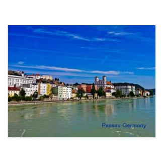 Postkarte Passau Bayern Deutschland