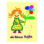 """Postkarte """"Riekes Blümchen"""""""